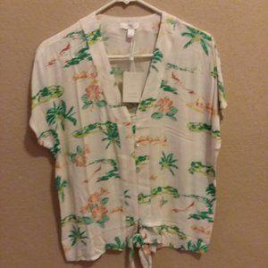 Woman's summer blouse